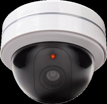 xavax Caméra de surveillance factice - ronde - blanc