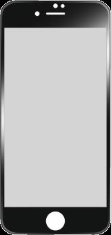 hama Anti-Reflex - Vetro di protezione 3D full screen - per Apple iPhone 6 - Nero