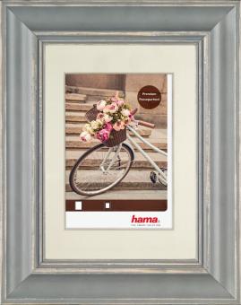 hama Cadre photo en bois Vélo - 60 x 80 cm - Gris