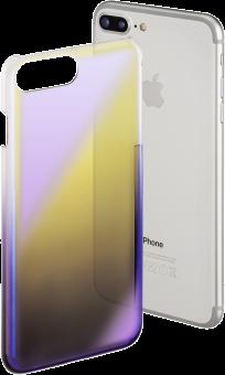 hama Mirror - Per Apple iPhone 6 Plus/6s Plus/7 Plus - Giallo/Viola