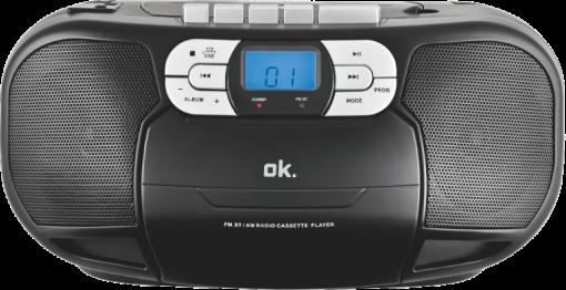 ok orc 500 b stereo kassettenrecorder mit cd player. Black Bedroom Furniture Sets. Home Design Ideas