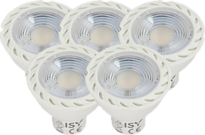 ISY ILE 1050 LED Deal GU 10, 5er Pack