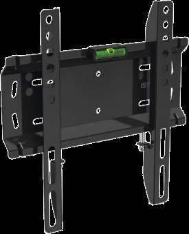 ISY IWB 1000 - Befestigungskit (Wandmontage) für LCD TV - Schwarz