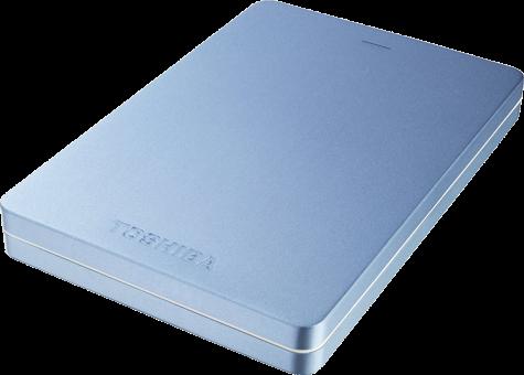 TOSHIBA Canvio Alu, 500 Go, bleu
