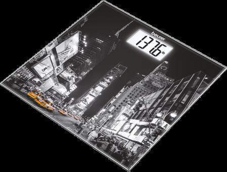 beurer GS 203 - Bilancia in vetro - Portata: 150 kg - New York