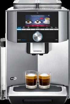 SIEMENS TI909701HC - Macchina del caffè automatica - 1500 W - Acciaio inossidabile