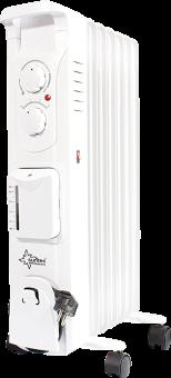 Radiatore a olio KLIMATRONIC® - suntec Heat Safe 1500 umido - 1550 W - Bianco