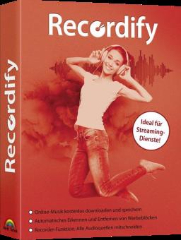 Recordify - Der moderne Kassettenrekorder für den PC!, PC [Versione tedesca]