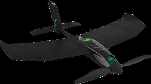 TobyRich SmartPlane Pro - Drone - Nitro-Booster per veloci competizioni aeree - Nero/Verde