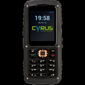 e6087cf0246c Cyrus CM 8 Solide - Téléphone portable d extérieur - Double SIM - Noir  Téléphone