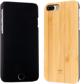 WOODCESSORIES EcoCase Camille - Bambou/Noir