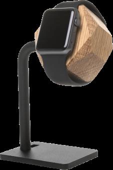 WOODCESSORIES EcoDock Watch - Station de chargement en bois - Pour Apple Watch - Marron
