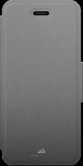 hama Material Folio Mesh - Schutzhülle - Für iPhone 7 - Grau