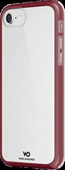 WHITE DIAMONDS Essential - für iPhone 7 - French Burgundy