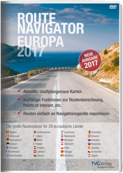 TVG Verlag RouteNavigator Europa 2017, PC [Version allemande]