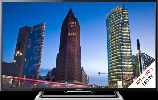 Sony KDL-40R555CB, LCD/LED TV, 40, 100 Hz, schwarz