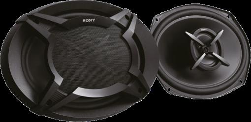 SONY XS-FB6920E - 2-Wege-Koaxiallautsprecher - 16 × 24 cm/6 × 9 - Schwarz