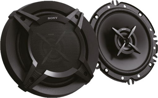 SONY XS-FB1620E - Speaker coassiali a 2 vie - 16 cm/6.5 - Nero