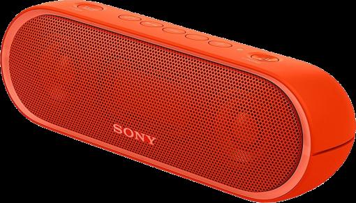 SONY SRS-XB20 - Haut-parleur portable - Bluetooth - Rouge