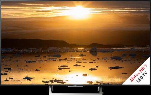 Sony KD-65XE7005 - LCD/LED-TV - 65 (164 cm) - Nero/Argento