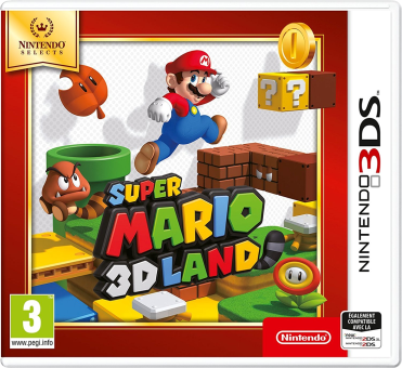 Nintendo Selects - Super Mario 3D Land, 3DS [Version italienne]