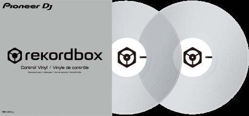 Pioneer RB-VD1-CL - Vinyle de Contrôle - Transparent