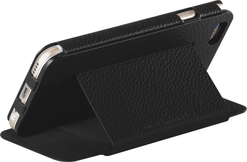 Just Mobile Quattro Folio - Custodia protettiva - per iPhone 6/6s - Nero