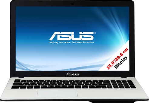 Asus X554LA-XO1679T, weiss