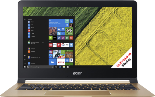 Acer Swift 7 SF713-51-M1XS - Ordinateur portable - écran Full HD 13.3 / 33.8 cm - noir/or