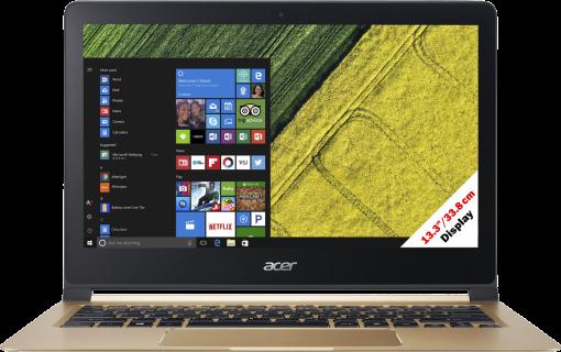 Acer Swift 7 SF713-51-M1XS - Notebook - Full HD-Display 13.3 / 33.8 cm - Schwarz/Gold