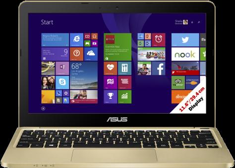 ASUS EeeBook X205TA, gold