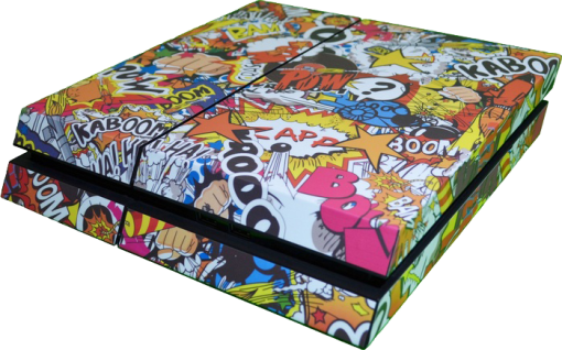 Epic Skin - Stickerbomb, couleur