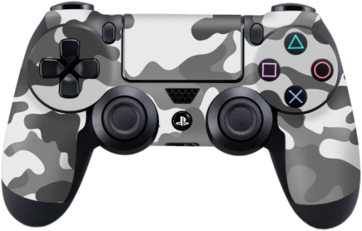 epic skin ps4 controller skin camouflage grey grau g nstig kaufen sonstiges zubeh r f r. Black Bedroom Furniture Sets. Home Design Ideas