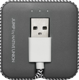 NATIVE UNION Jump Cable - Lightning Kabel - Grau