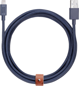 NATIVE UNION Belt Cable - Lightning Kabel - 3 m - Blau