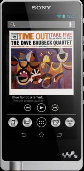 SONY NWZ-ZX1 - Lettore audio digitale portatile HiRes - 128 GB - Argento