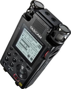 TASCAM DR-100MKIII - Enregistreur stéréo portable - Pour utilisation professionnelle - Noir