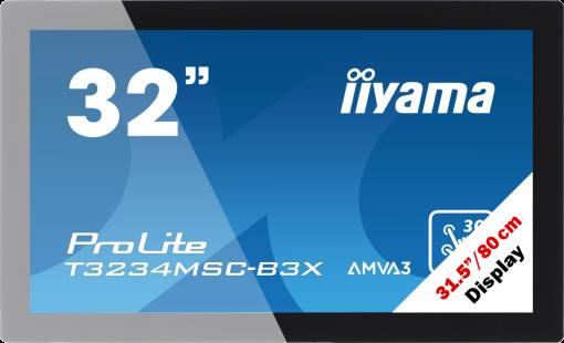 Iiyama Prolite - Amva3 Edge LED Ecran - 31.5