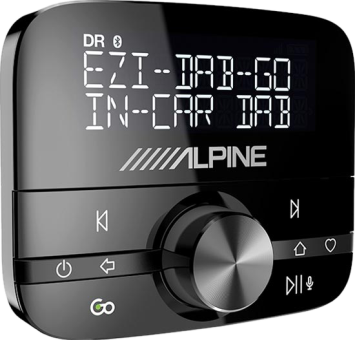 alpine ezi dab go digital radio bluetooth dab. Black Bedroom Furniture Sets. Home Design Ideas