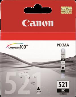 Canon Canon Cli-521Bk, noir Tintenpatronen