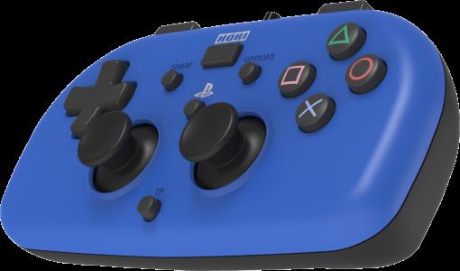 hori ps4 100e ps4 controller verdrahtet blau g nstig kaufen ps4 controller joypads. Black Bedroom Furniture Sets. Home Design Ideas