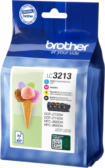 Brother LC-3213V - Cyan/Magenta/Gelb/Schwarz