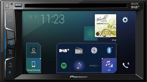 pioneer avh z3000dab multimedia player mit 7 clear. Black Bedroom Furniture Sets. Home Design Ideas