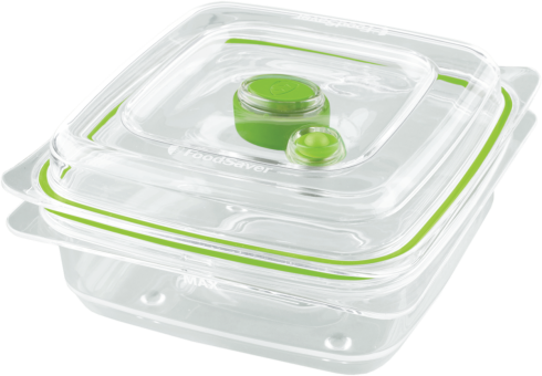 foodsaver bo te fra cheur de conservation 700 ml transparent vert machine sous vide. Black Bedroom Furniture Sets. Home Design Ideas