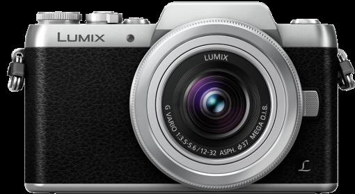 Panasonic Lumix G Dmc-Gf7K Appareil photo à objectif interchangeable Noir/Argent