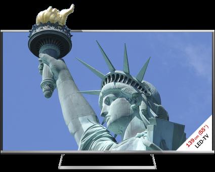 Panasonic TX-55ASM655, LCD/LED TV, 55, 1200 Hz, Nero/Argento