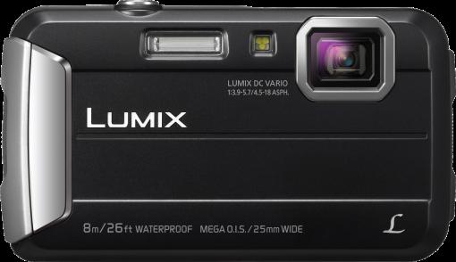 Panasonic Lumix Dmc-Ft30 - Appareil photo numérique - 16.1 MP - noir Appareil photo numérique Noir
