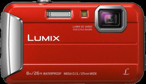 Panasonic Lumix DMC-FT30 - Fotocamera digitale - 16.1 MP - rosso