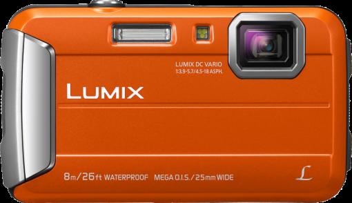 Panasonic Lumix Dmc-Ft30 - Appareil photo numérique - 16.1 MP - orange Appareil photo numérique Orange