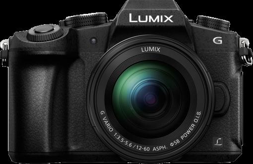 Panasonic dmc g81 lumix g vario 12 60 mm appareil for Appareil photo sans miroir